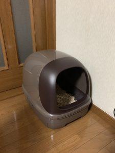 福先生のドーム付きトイレ